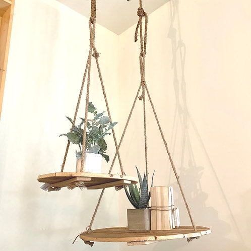 Small hanging rope display-Special order piece