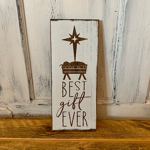 Best gift manger sign