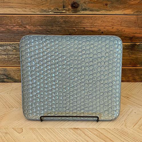 Light gray platter