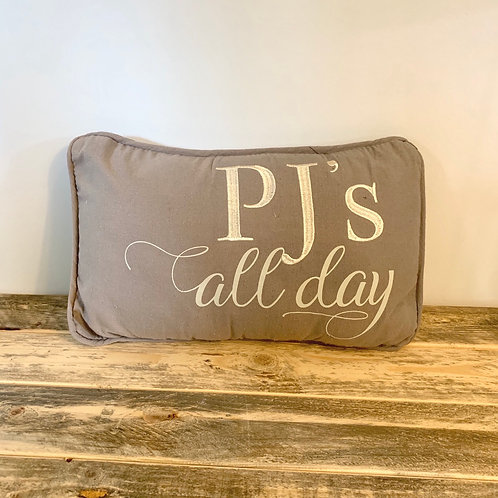 Pjs all day pillow