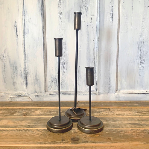 Set of 3 taper candles