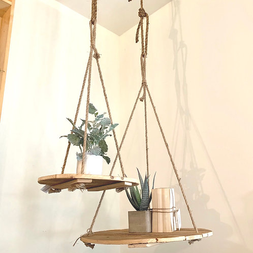 Large hanging rope display-Special order piece.