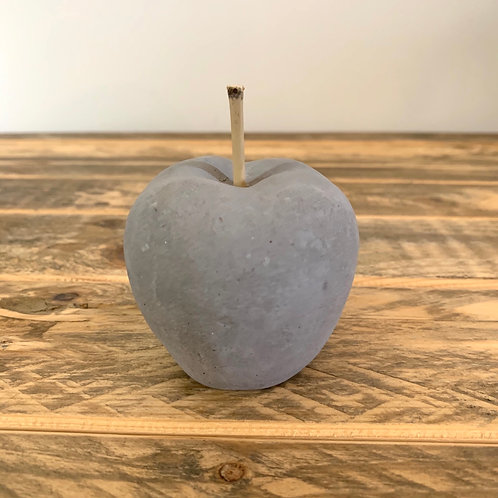 Small cement apple
