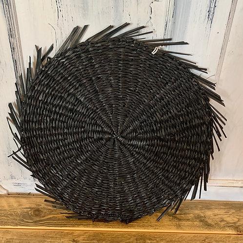Black sea grass placemat