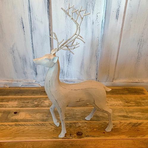 White antler deer