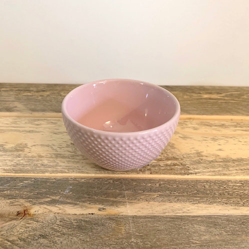 Pastel stoneware bowl -3.5 in