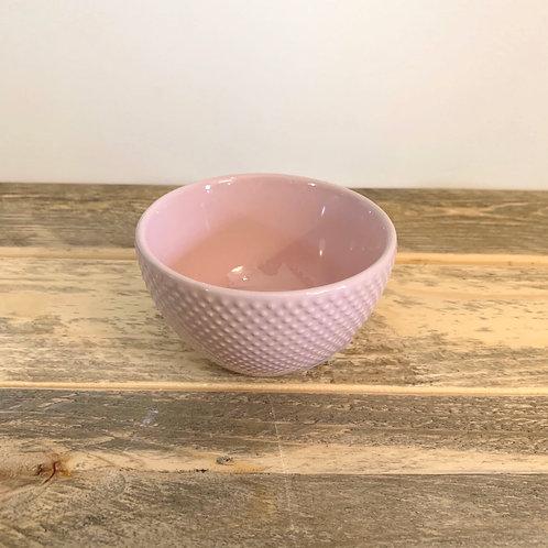 Pastel stoneware bowl -3.5 in