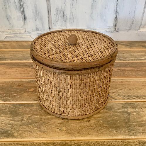 Wooden cane box