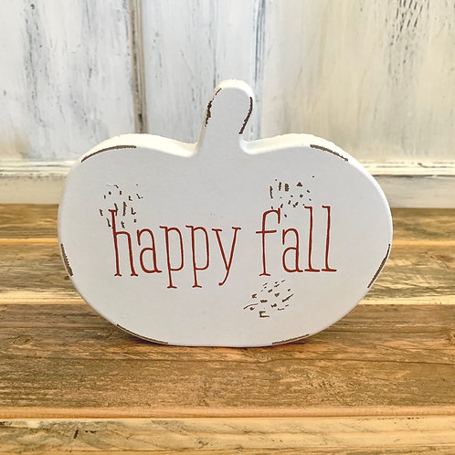 Happy fall chippy cut out