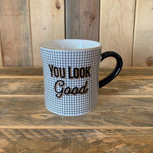 Gold electroplating mug