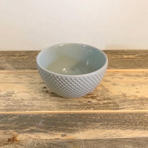 Pastel stoneware bowl-3.5 in
