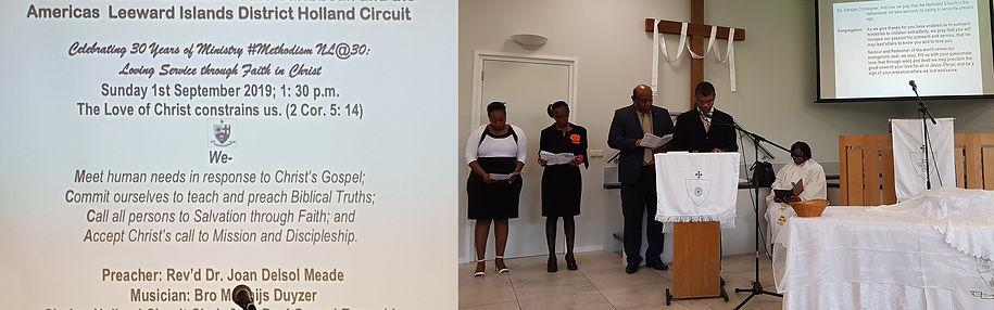 SKIN Holland Methodist Church viert 30-j