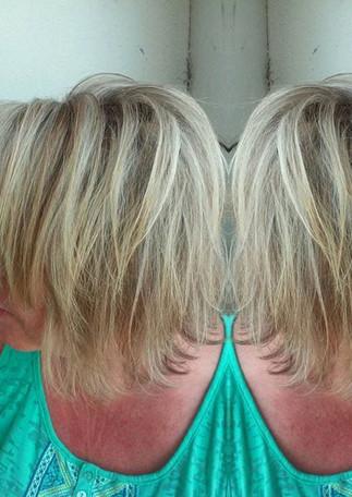 I  love my hair!  Thanks Melissa Herring