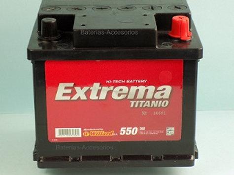 Bateria 36 D Willard Extrema 550A