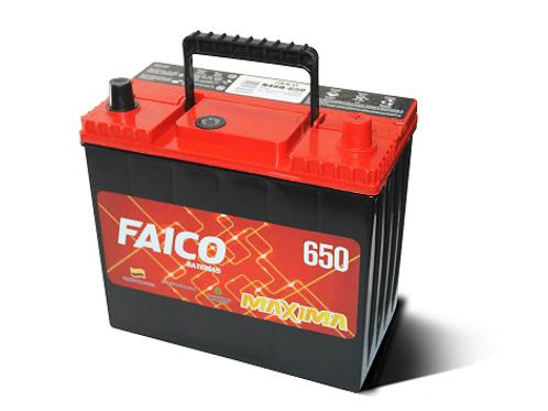 Bateria N40 D Faico 650A