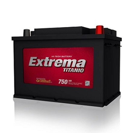 Bateria 24 D Willard Extrema 750A