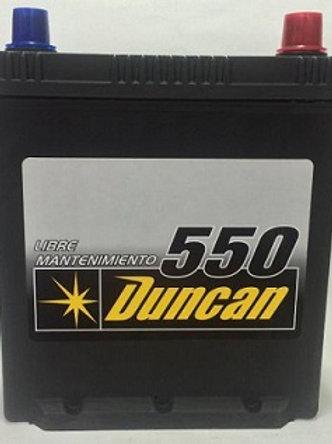 Bateria NS40 Duncan 450A