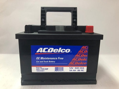 Bateria 42 Acdelco Roja 700A