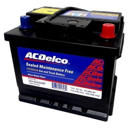Bateria 36 Acdelco Roja 600A