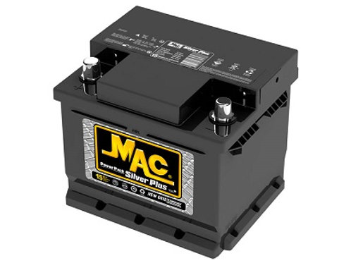 Bateria 36 D Mac Silver 600A
