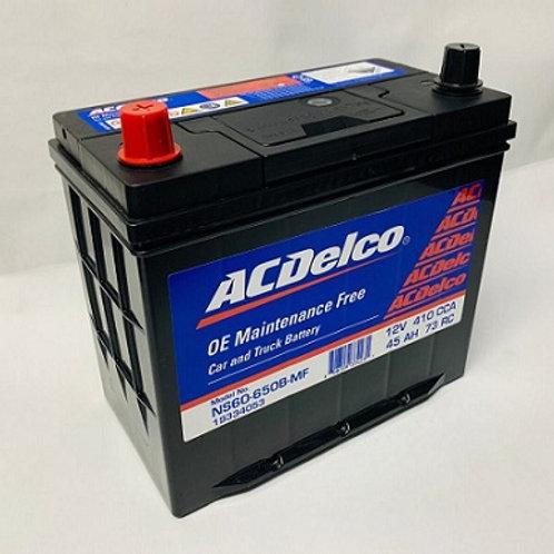 Bateria NS60 Acdelco Roja 650A