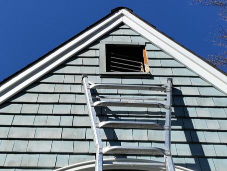 No attic access