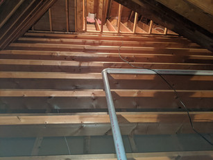 Attic clean out