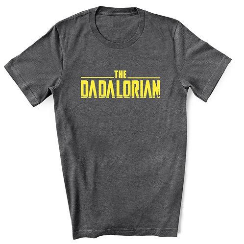 DADALORIAN - Grey - Crewneck T-Shirt