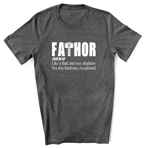 FATHOR - Grey - Crewneck T-Shirt