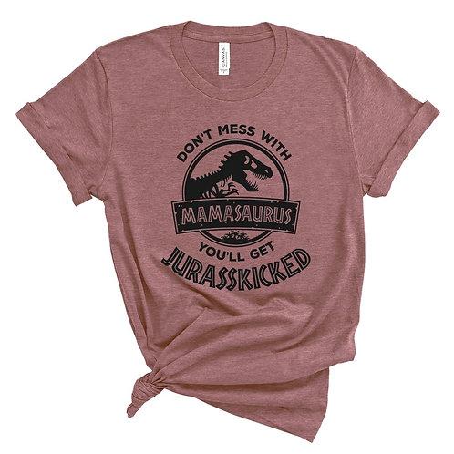 MAMASAURUS - Mauve - *Premium - Unisex Crewneck T-Shirt