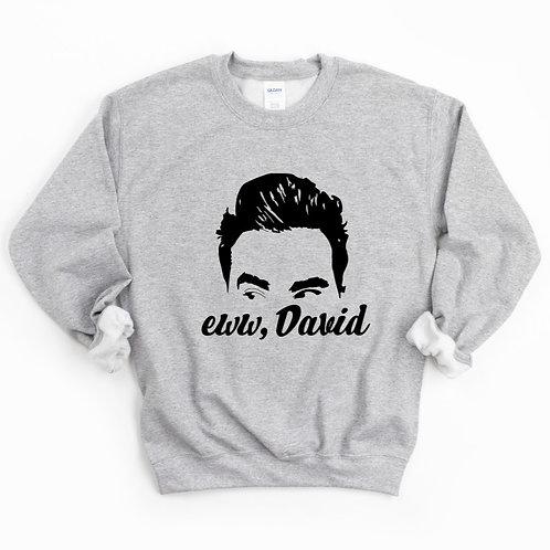 EWW DAVID - Grey - Unisex Crewneck Sweatshirt