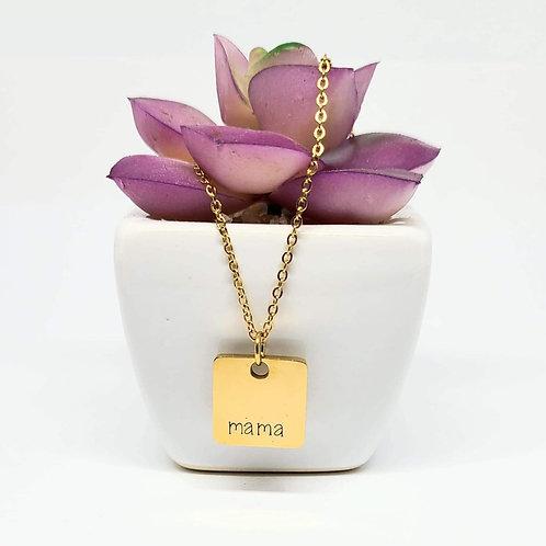 """m a m a - 18"""" necklace"""