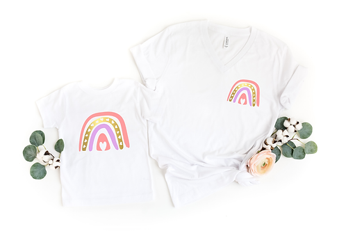 Rainbow Child - Mommy + Me - Tshirts - Onesie