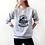 Thumbnail: MAMASAURUS - Grey - Unisex Crewneck Sweatshirt