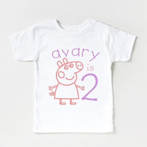 P E P P A  - (Personalize) - Infant Onesie 12M - Toddler Unisex T-Shirt 2-4