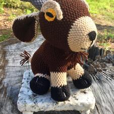 Crochet Goat Plush