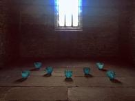 Living Water vessels in  Tullbardine Chapel