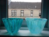 Tenament windowsill display