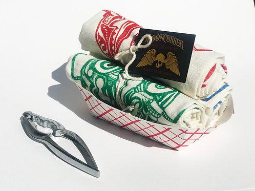 Tattoo Tea Towels Embattled Seacreature