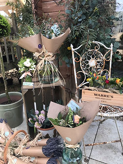 Harri May Flowers Shop Front arrangement
