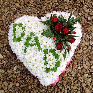 Heart tribute dad