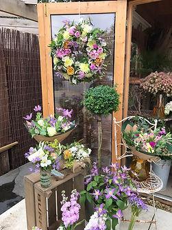 Harri May Flowers Summer shop display