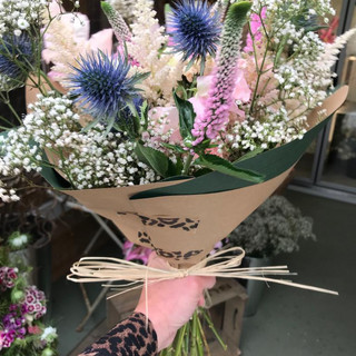 Pink, Purple & White Bouquet