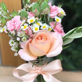 Small Rose Posy Pot