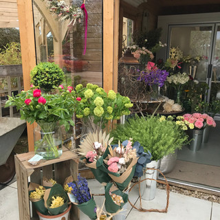 Harri May Flowers shop display