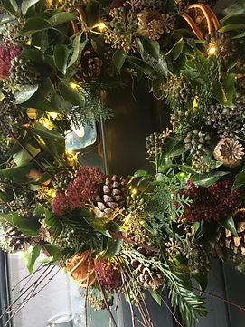 Christmas Wreath Detail