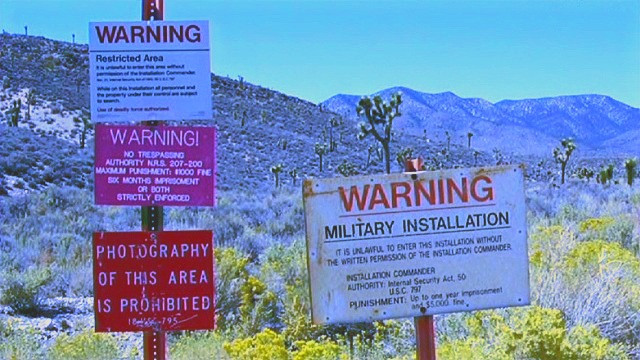 What happens if you try to enter Area 51?