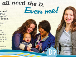 'We All Need the D,' Says Ad Campaign