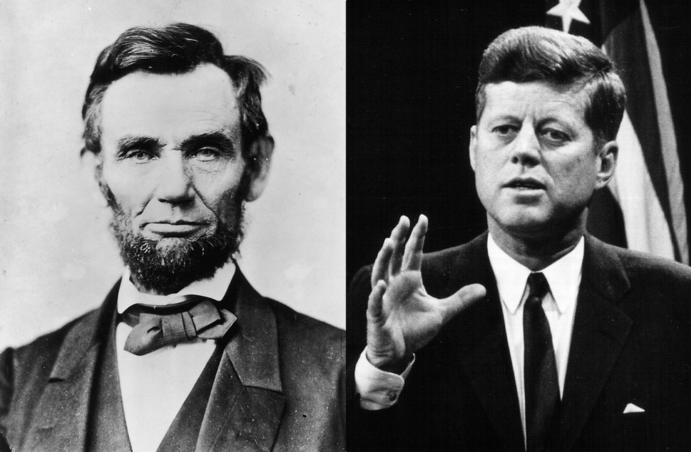 Strange Coincidences Between Lincoln and Kennedy