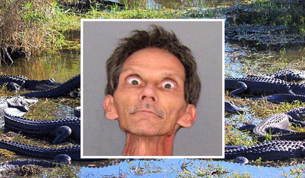 FLORIDA MAN ARRESTED FOR TRANQUILIZING AND RAPING ALLIGATORS